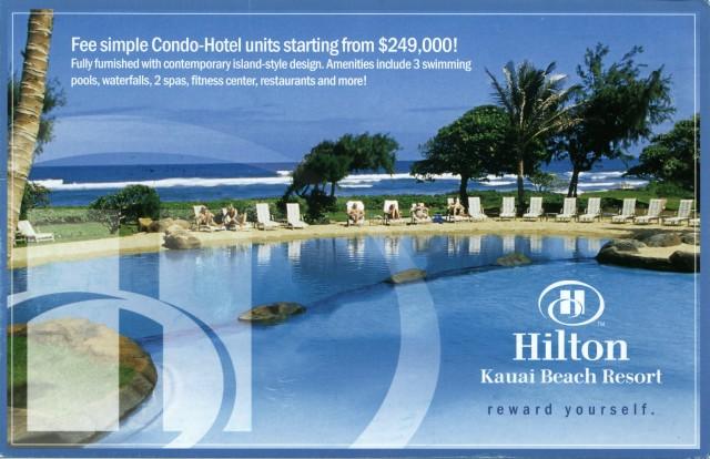 Old Kauai Beach Resort Ad